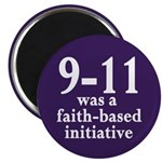 9-11 was faith-based magnet (100 pack)