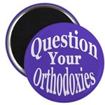 Question Orthodoxies Magnet (100 pack)