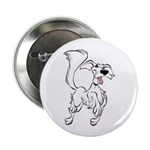 "Prancing Dog 2.25"" Button (10 pack)"