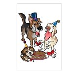 Birthday Dogs Postcards (Package of 8)