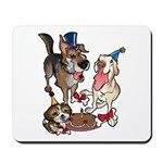 Birthday Dogs Mousepad