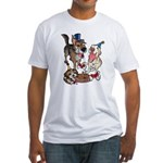 Birthday Dogs Fitted T-Shirt