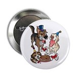 "Birthday Dogs 2.25"" Button (100 pack)"