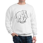 Elephant Sketch Sweatshirt