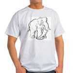 Elephant Sketch Light T-Shirt