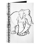Elephant Sketch Journal
