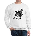 Collie Play Bows Sweatshirt