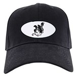Collie Play Bows Black Cap