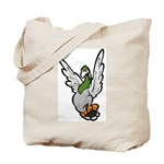 Scared Pigeon Tote Bag