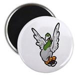"Scared Pigeon 2.25"" Magnet (10 pack)"