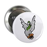 "Scared Pigeon 2.25"" Button (100 pack)"