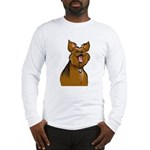 Smiling Yorkie Long Sleeve T-Shirt