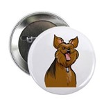"Smiling Yorkie 2.25"" Button (100 pack)"