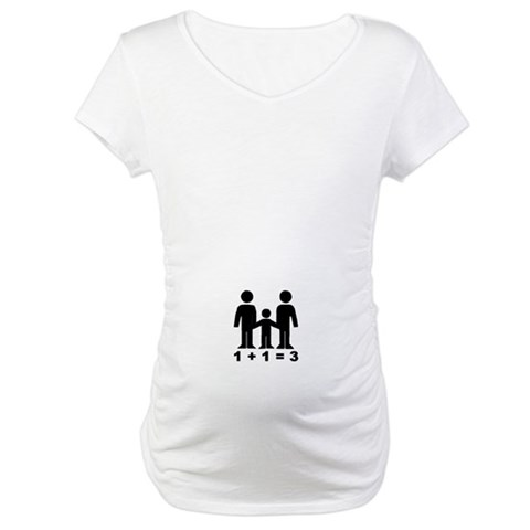 1  1  3  Baby Maternity T-Shirt by CafePress