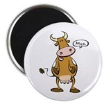 """Moo Cow 2.25"""" Magnet (100 pack)"""