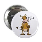 """Moo Cow 2.25"""" Button (10 pack)"""