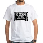 No Smoking By City Ordinance T-Shirt