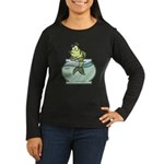 Fish Bowl Women's Long Sleeve Dark T-Shirt