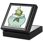 Fish Bowl Keepsake Box