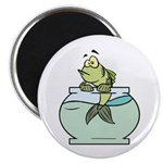 "Fish Bowl 2.25"" Magnet (10 pack)"