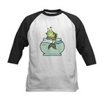 Fish Bowl Kids Baseball Jersey