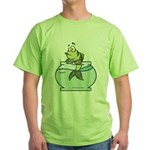 Fish Bowl Green T-Shirt