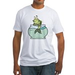 Fish Bowl Fitted T-Shirt