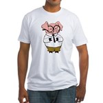 Smart Pig Fitted T-Shirt