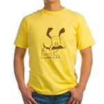 Puppy Design Yellow T-Shirt