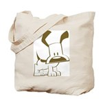Puppy Design Tote Bag