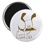 "Puppy Design 2.25"" Magnet (100 pack)"