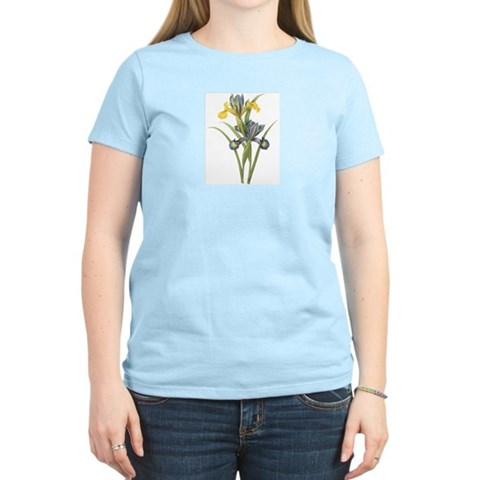 Vintage Iris 2 Christmas gift xmas gift birthday gift Women's Light T-Shirt by CafePress