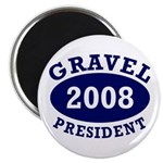 Gravel President 2008 Fridge Magnet