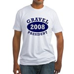 Gravel 2008 Fitted USA T-Shirt