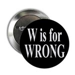 W is for Wrong Button