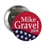 Mike Gravel 2008 (100 pack of buttons)