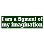 Figment of Imagination Bumper Sticker