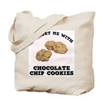 Comfort Chocolate Chip Cookies Tote Bag