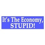 It's the Economy, Stupid! (bumper sticker)