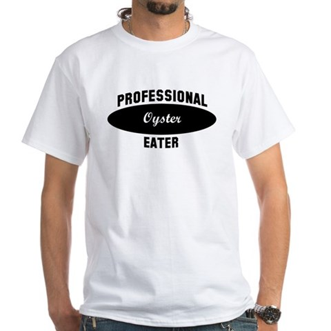 Product Image of Pro Oyster eater White T-Shirt