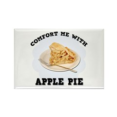 Comfort Apple Pie Rectangle Magnet