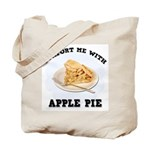 Comfort Apple Pie Tote Bag