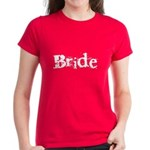 Bride Black Text