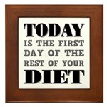 First Day Diet Plaque