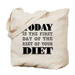 First Day Diet Tote Bag