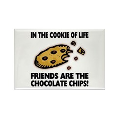 Chocolate Chip Friends Magnet