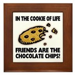 Chocolate Chip Friends Plaque