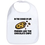 Chocolate Chip Friends Bib