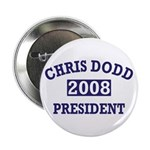 Chris Dodd for President 2008 Button