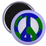 Earth Peace Sign Magnet (10 pack)